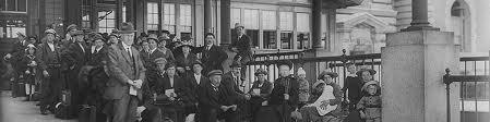 Inmigrantes en Ellis Island