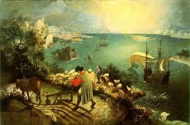 Caída de Ícaro (Brueghel)