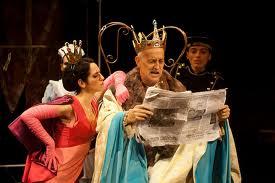 El rey se muere (Iomesco)