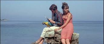 Cine de poesía (Pierrot le Fou, Jean-Luc Godard, 1965)