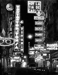 Buenos Aires de noche hacia 1940