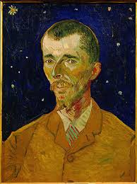 Retrato del poeta Eugene Boch