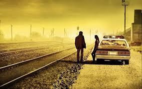 Un hombre en la carretera