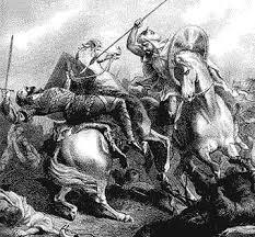 Don Julián en la batalla de Guadalete
