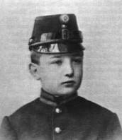Atribulado cadete austrohúngaro