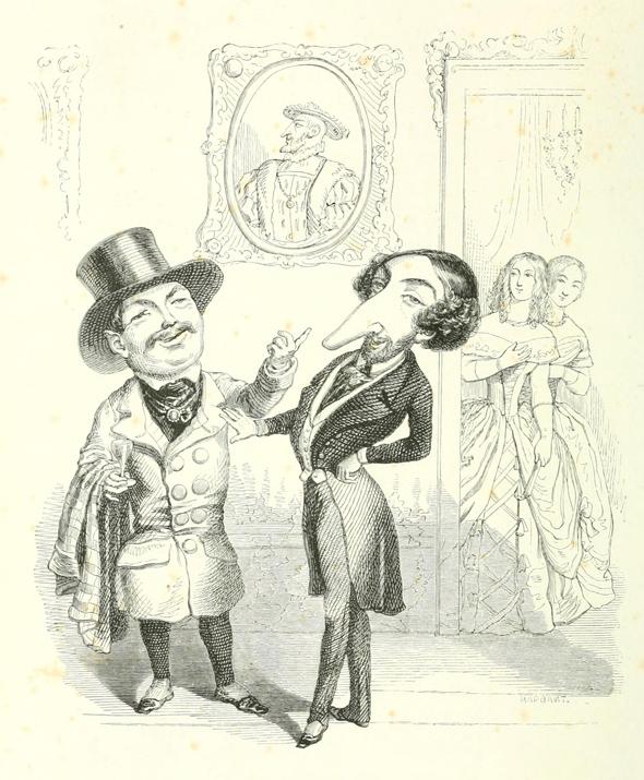 caricaturamonet